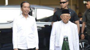 Joko Widodo dan KH. Ma'ruf Amin (foto tirto.id)